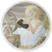 Farm's Reader Round Beach Towel