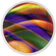 Fascination Round Beach Towel