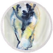 Fearless, 2015 Round Beach Towel