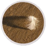 Feather Arch Round Beach Towel