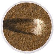 Feather Arch Round Beach Towel