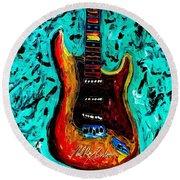 Fender Delight Round Beach Towel