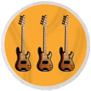 Fender Precision Bass 58 Round Beach Towel