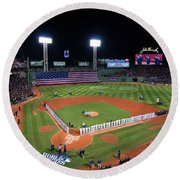 Fenway Park World Series 2013 Round Beach Towel