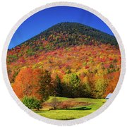 Ferncroft Round Beach Towel