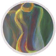 Figure I Round Beach Towel