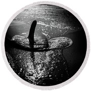 fin Round Beach Towel