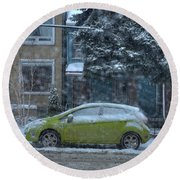 Winter-2014 Round Beach Towel