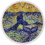 Fintastic Round Beach Towel