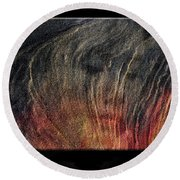Fire Water Earth Wind Round Beach Towel