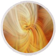 Firefly Round Beach Towel
