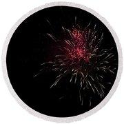 Fireworks 2016 Iv Round Beach Towel