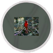 Round Beach Towel featuring the photograph First Day Of Summer by Barbara S Nickerson