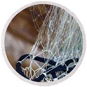 Fishing Net Details - Rovinj, Croatia Round Beach Towel