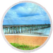 Flagler Beach Round Beach Towel