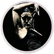 Flamenco Soul Round Beach Towel