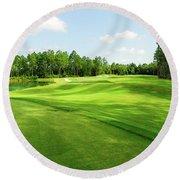 Fleming Island Golf Club Round Beach Towel