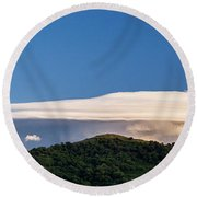 Flight Of The Navigator Round Beach Towel by Giuseppe Torre