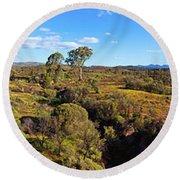 Flinders Ranges Round Beach Towel
