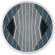 Grace No. 2 Round Beach Towel