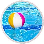 Float Round Beach Towel