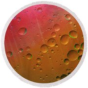 Floating Worlds Round Beach Towel
