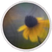 Floral Dream 1 Round Beach Towel