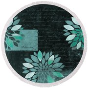 Floralis - 8181cd Round Beach Towel