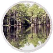Florida Beauty 10 - Tallahassee Florida Round Beach Towel