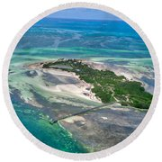 Florida Keys - One Of The Round Beach Towel