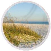 Destin, Florida's Gulf Coast Is Magnificent Round Beach Towel