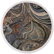 Flow Round Beach Towel