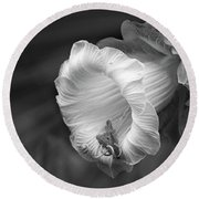 Flowers And Roses 117 Round Beach Towel