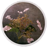 Round Beach Towel featuring the photograph Flowers For The Mind by Randi Grace Nilsberg