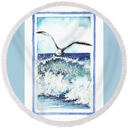 Fly High Round Beach Towel by Heidi Kriel