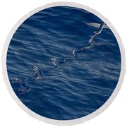 Flyer Round Beach Towel by  Newwwman