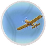 flyin' High Round Beach Towel