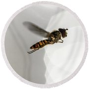 Flying Bell Round Beach Towel