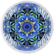 Flying Free Round Beach Towel
