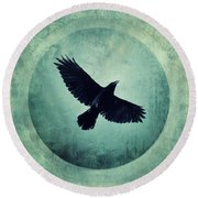 Flying High Round Beach Towel by Priska Wettstein