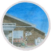 F.o. Goldthwaite Round Beach Towel