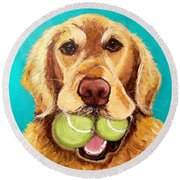 For Andrews Love Round Beach Towel