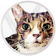 For Laura Round Beach Towel