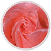 For The Love Of Rose 7 Round Beach Towel