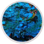 Forces Of Nature Round Beach Towel