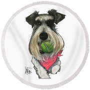 Ford 3235 Miley Round Beach Towel