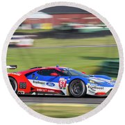 Ford Gt 67 Round Beach Towel
