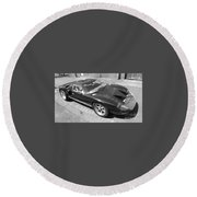 Ford Gt40 Round Beach Towel