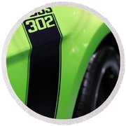 Ford Mustang - Boss 302 Round Beach Towel