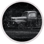 Ford Truck 2017-1 Round Beach Towel